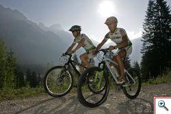 Mountainbiken im Tannheimer Tal